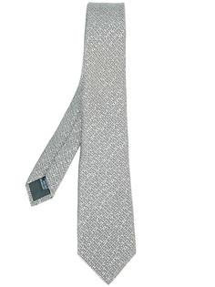 тканый галстук Lanvin