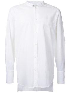рубашка с воротником-стойка Wooyoungmi