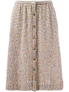 bouclé knit skirt Missoni Vintage