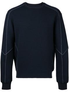 contrast sweatshirt  Wooyoungmi