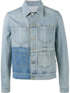 джинсовая куртка с выбеленным эффектом Maison Margiela