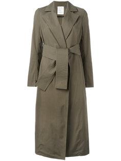 belted trench coat  Maison Rabih Kayrouz