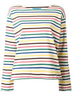 футболка Rainbow Stripe Mih Jeans