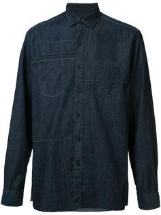 джинсовая рубашка с нагрудными карманами Lanvin