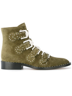 ботинки с пряжками Givenchy