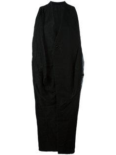 пальто без рукавов Rick Owens