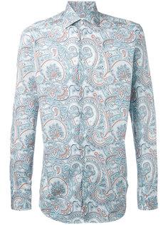 рубашка с узором пейсли Etro