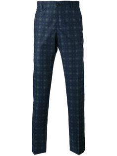 брюки с узором арабеска  Etro