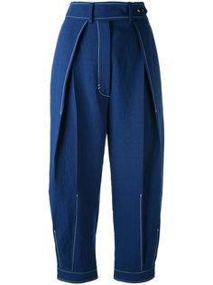 брюки с плиссировкой Sportmax