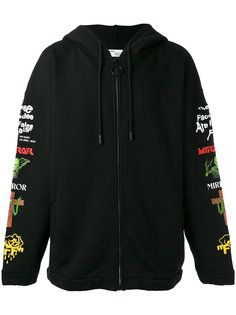 embroidered hoodie Off-White