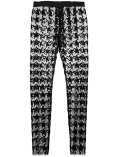 брюки скинни с пайетками Dolce & Gabbana