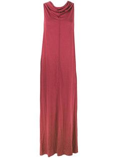 платье с отвисающей горловиной Rick Owens Lilies