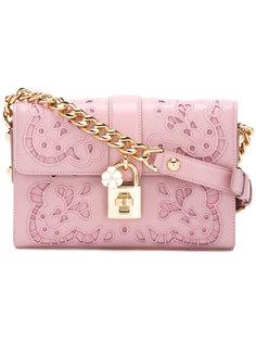 сумка на плечо с замочком спереди Dolce & Gabbana