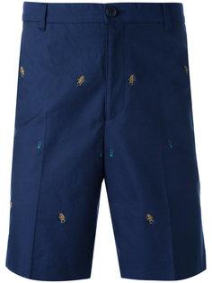 шорты бермуды с вышивкой Kenzo