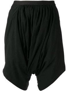 шорты со сборкой по бокам Rick Owens DRKSHDW