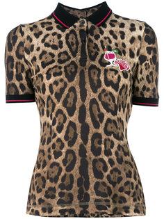leopard print blouse Dolce & Gabbana