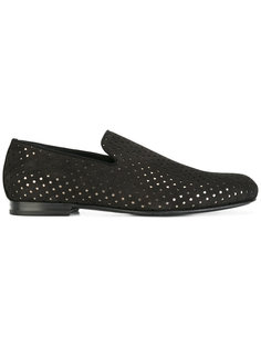 star detail slipper loafers Jimmy Choo