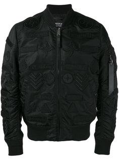 куртка бомбер с вышивкой Marcelo Burlon County Of Milan