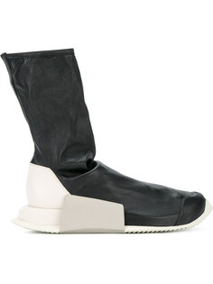 кроссовки с носочной вставкой Adidas Level Rick Owens