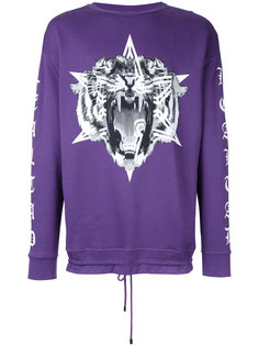 tiger print sweatshirt Marcelo Burlon County Of Milan