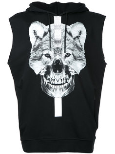 hooded tank Marcelo Burlon County Of Milan