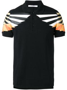 рубашка-поло с графическим принтом Givenchy