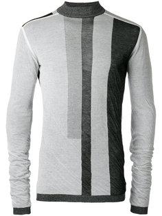 свитер с геометрическим принтом Rick Owens