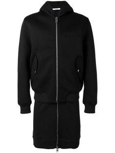 пальто на молнии с логотипом Givenchy
