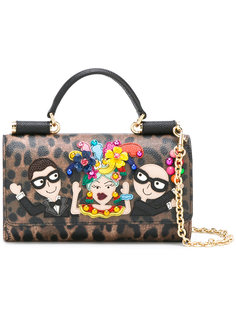 мини сумка через плечо Von с нашивкой Dolce & Gabbana