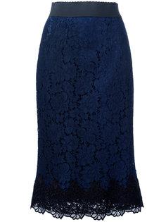 кружевная юбка Dolce & Gabbana