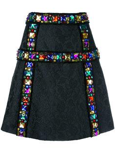 жаккардовая юбка Dolce & Gabbana