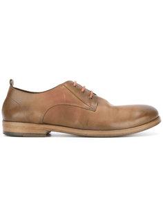 туфли со шнуровкой и закругленным носком Marsèll