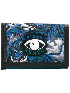 кошелек с рисунком Tiger and Eye Kenzo