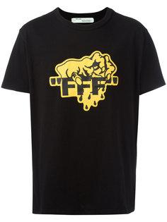 футболка с графическим принтом Off-White