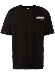 футболка с принтом логотипа Kenzo