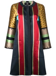 жаккардовое полосатое пальто Etro