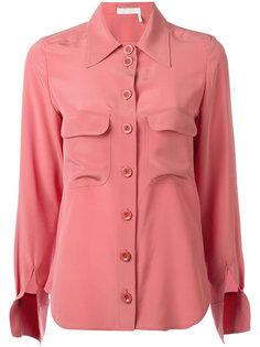 блузка с разрезами на рукавах Chloé