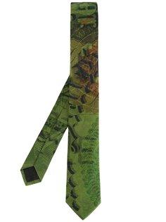 галстук с принтом Givenchy