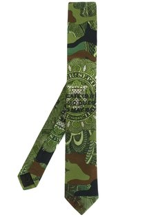 камуфляжный галстук Givenchy