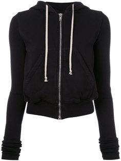 zipped hoodie  Rick Owens DRKSHDW