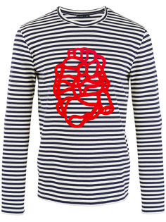 printed Breton stripe sweatshirt Etro