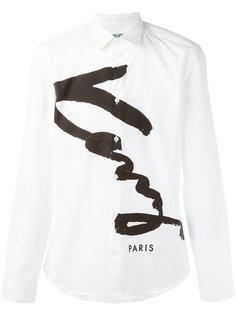 """рубашка """"Signature"""" Kenzo"""
