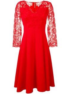 расклешенное кружевное платье Ermanno Scervino
