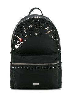 рюкзак с музыкальными элементами Dolce & Gabbana