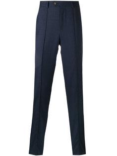 зауженные брюки с рельефной окантовкой Brunello Cucinelli