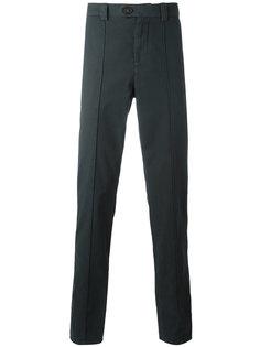 зауженные брюки с простроченной отделкой Brunello Cucinelli