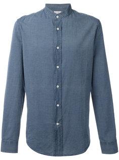 джинсовая рубашка с узким воротником Brunello Cucinelli