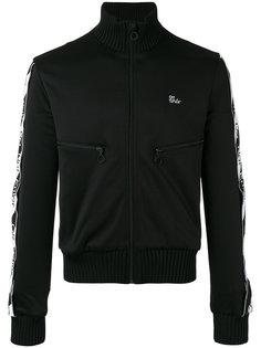 спортивная куртка с полосками на рукавах Off-White