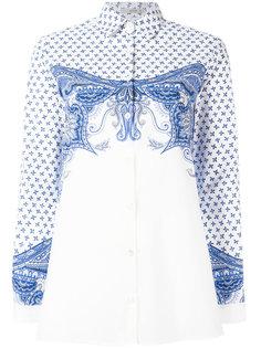 рубашка с синим рисунком Etro