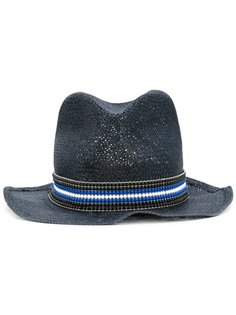 плетеная шляпа Ermanno Scervino